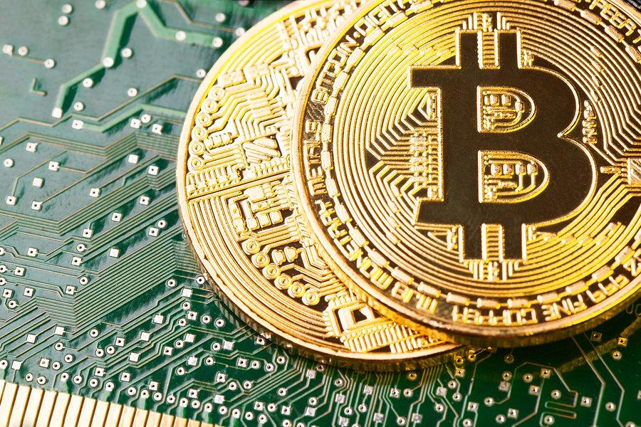 turning bitcoin